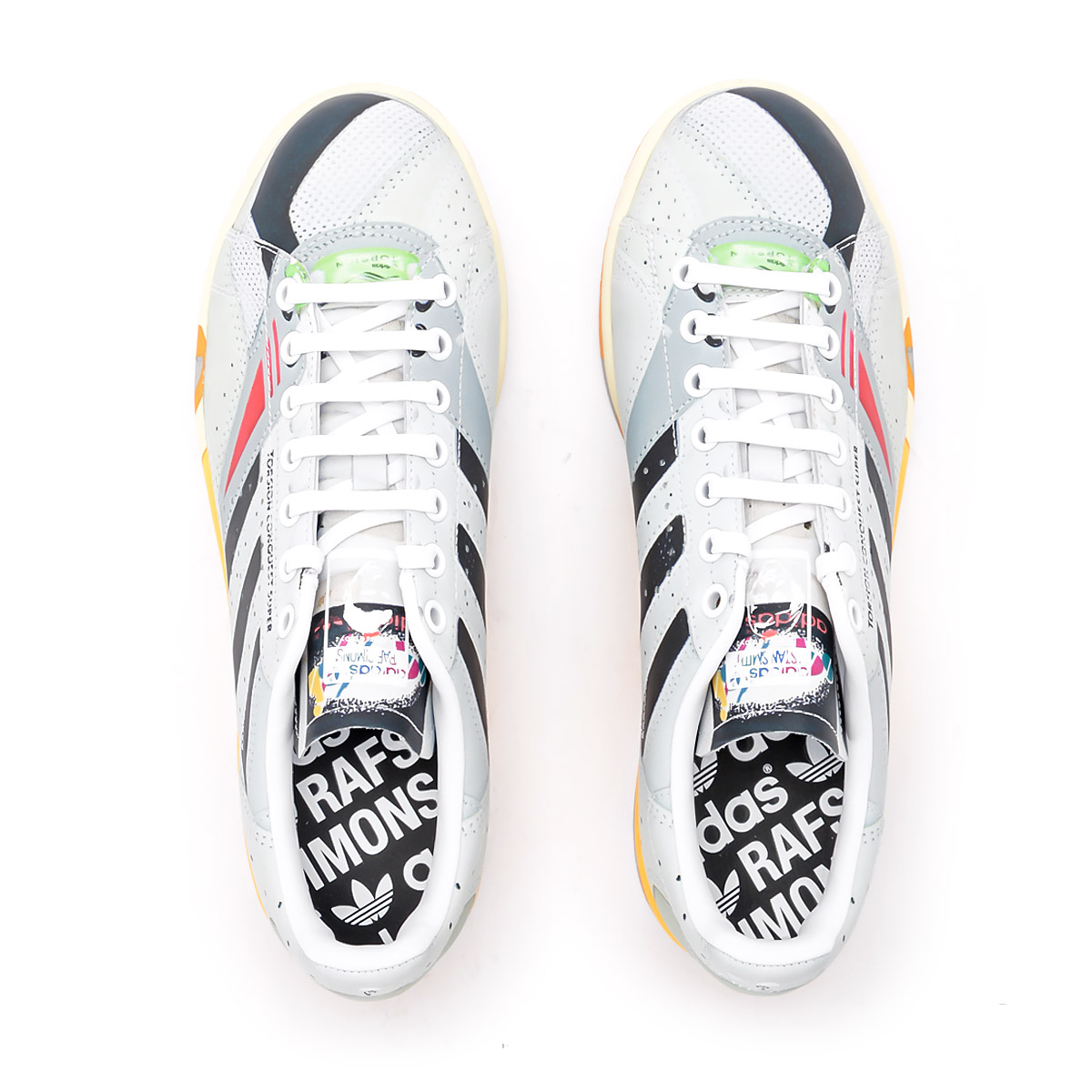 Details about Adidas by Raf Simons Sneakers Stan Smith Torsion in Leder Multicolor