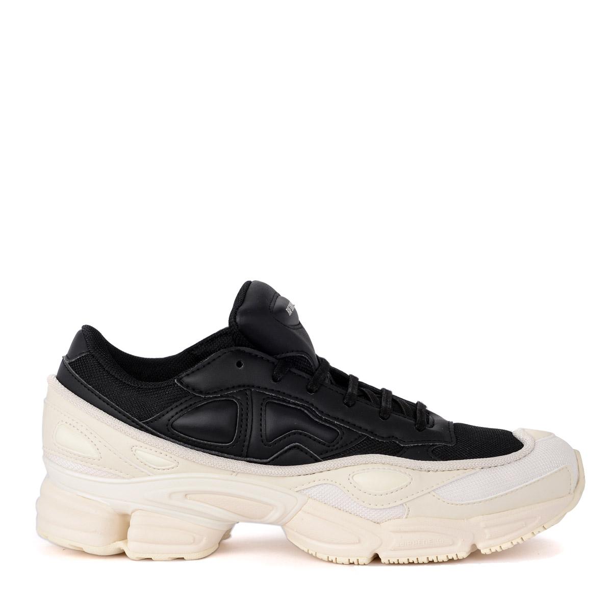 "cheaper d907c c704f Sneaker adidas by Raf Simons Ozweego in pelle e e e tessuto nera e bianca  62f6f0. """