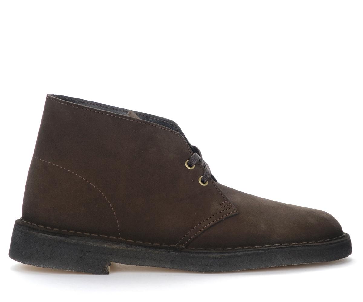 Bottines Desert Boots en daim marron - CLARKS ORIGINALS - Modalova