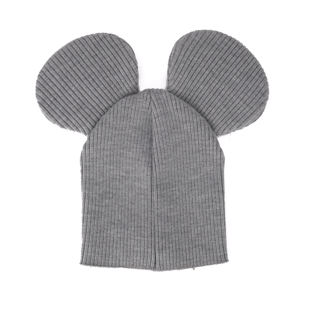Comme des Garçons Shirt mixed grey wool fabric hat with ears. e4a9df6ae9a1