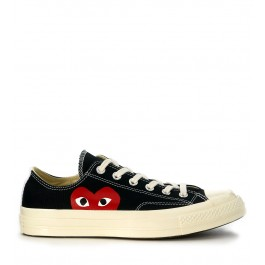 Nuovo Converse Comme Des Garcons Play Iii Marroni Basse Rosa