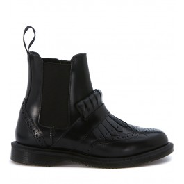 Beatles Dr. Martens Tina in pelle spazzolata nera