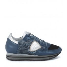 Sneaker Philippe Model Tropez Higher blu