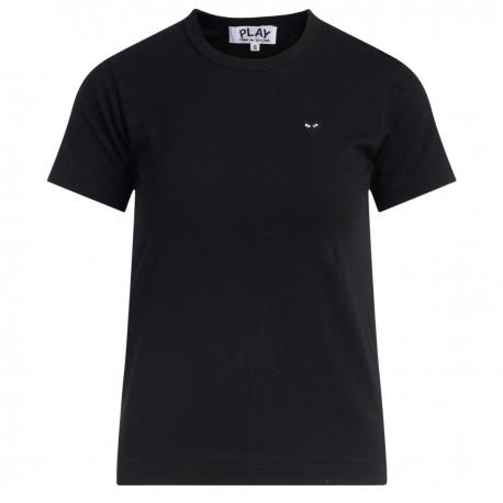 T-Shirt da donna Comme Des Garçons PLAY nera