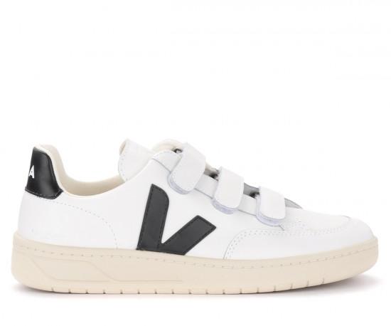 Sneaker da donna Veja V-Lock in pelle bianca