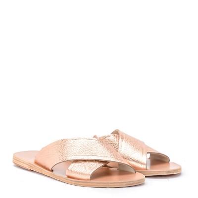 Laterale Ciabattina Ancient Greek Sandals Thais in pelle rosa