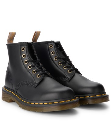 Laterale Anfibio Dr. Martens 101 in pelle vegan nera