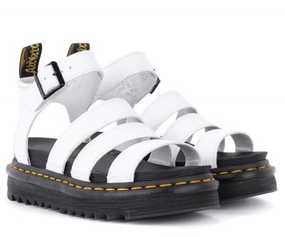 Laterale Sandalo Dr. Martens Blaire bianco
