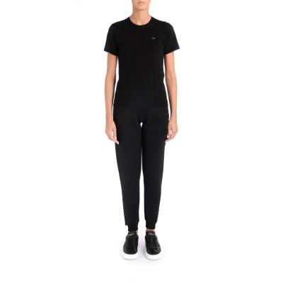 Laterale T-Shirt da donna Comme Des Garçons PLAY nera