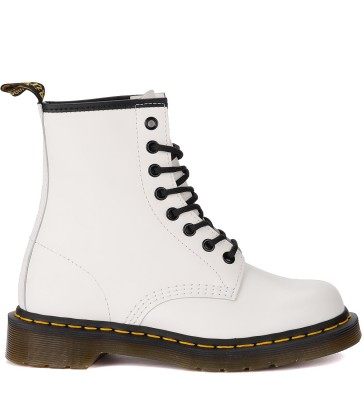 Anfibio Dr. Martens 1460 Smooth in pelle bianca