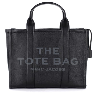 Borsa The Marc Jacobs The Leather Small Traveler Tote Bag nera