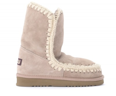 Stivaletto Mou Eskimo 24 in  montone double face grigio