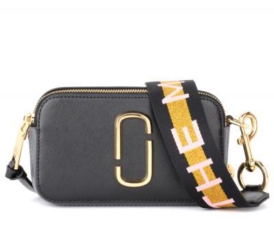 Borsa a tracolla The Marc Jacobs Snapshot Small Camera Bag nera
