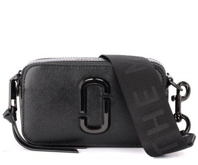 Borsa a tracolla The Marc Jacobs The Snapshot DTM in pelle nera