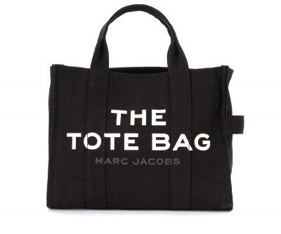 Borsa The Marc Jacobs The Small Traveler Tote Bag in canvas nero