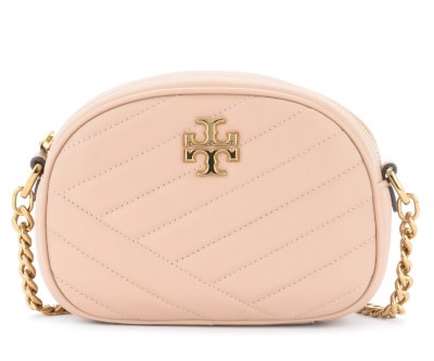 Borsa a tracolla Tory Burch Kira Small color sabbia