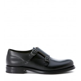 Lace up Church's Lucy in opaque black leather