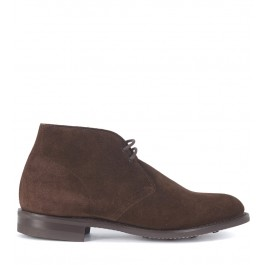 Polacco Church's Sahara D in castoro suede marrone