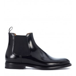 Church's Monmouth black leather ankle boots