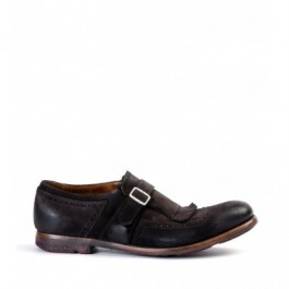 DARK BROWN CHURCH'S SHANGHAI VINTAGE LOAFER