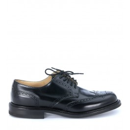 Stringata Church's mod Newark in pelle nera