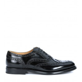 Church's Burwood lace up black patent leather