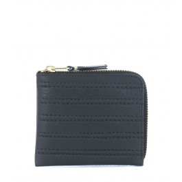 Comme Des Garçons Wallet in black leather
