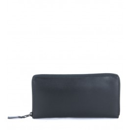 Comme des Garçons Wallet in black calf leather
