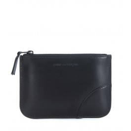 Comme des Garçons black calf leather purse