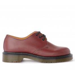 MARTENS 3 EYELET LEATHER LACE-UP