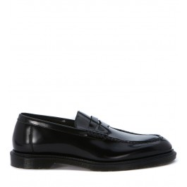 Dr. Martens Penton loafer in black brushed leather