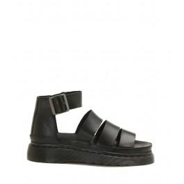 DR. MARTENS BLACK Strap Sandal