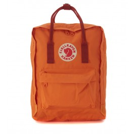 Kånken by Fjällräven red and orange backpack