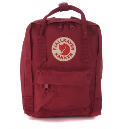 Kånken by Fjällräven backpack mini red plum