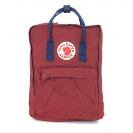 Kånken by Fjällräven red and blue backpack