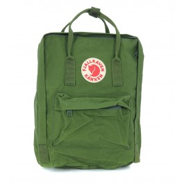 Kånken by Fjällräven green backpack