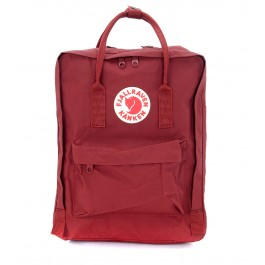 Kånken by Fjällräven red backpack