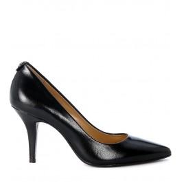 Decolletè Michael Kors MK-Flex Mid Pump in black soft leather