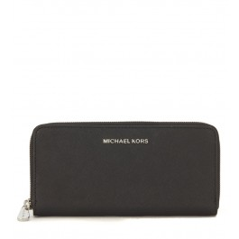 Michael Kors black saffiano leather wallet