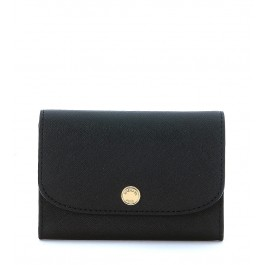 Michael Kors Juliana wallet in black saffiano leather