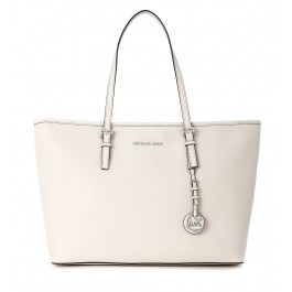 Michael Kors Jet Set Travel TZ ivory tote bag