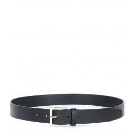 Orciani black saffian leather belt