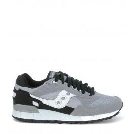 Sneaker Saucony modello Shadow 5000 in suede e nylon grigio