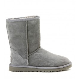CLASSIC SHORT GREY ANKLE BOOT