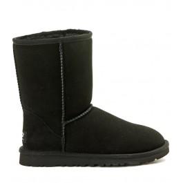 Ugg Classic short black ankle strap