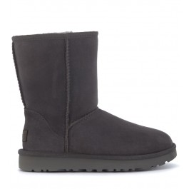 UGG Classic II Short ankle boots in grey suede