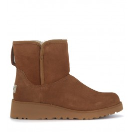 UGG Kristin Mini ankle boots in brown suede