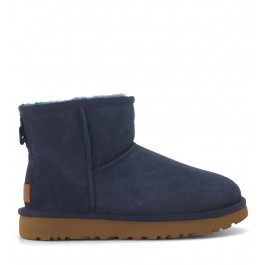 Tronchetto UGG Classic II Mini in camoscio blu navy