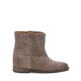 VIA ROMA 15 ANKLE BOOT INTERNAL WEDGE DOVE-GREY SUEDE