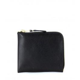 Comme Des Garçons  black leather wallet